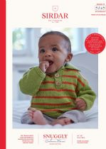 Sirdar Snuggly Baby Cashmere Merino DK Knitting Pattern Booklet - 5245 Sweaters